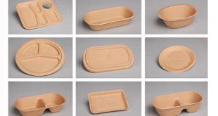 پخش ظروف یکبار مصرف گیاهی