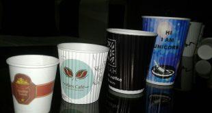 لیوان یکبار مصرف کاغذی تبلیغاتی