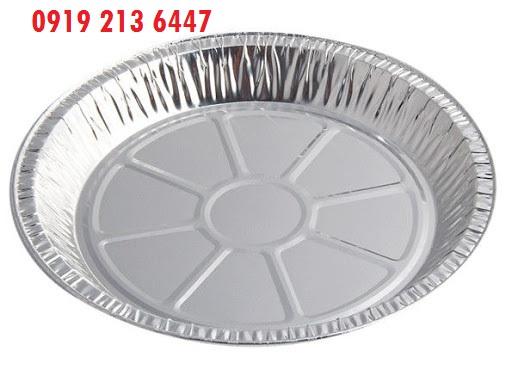 فروش انواع ظرف یکبار مصرف گرد آلومینیومی